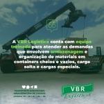 VBR Logística - Expertise em armazenagem de cargas